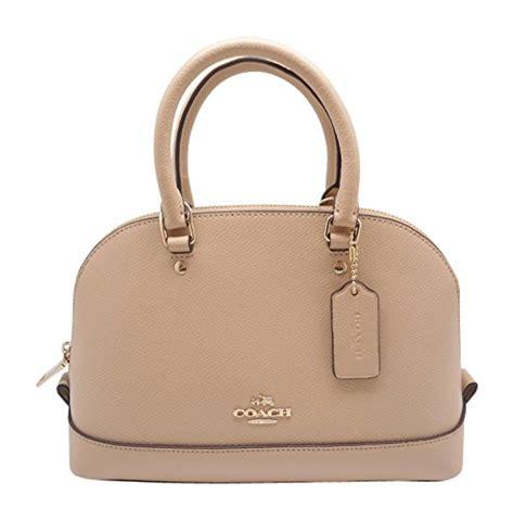 Coach Mini Beechwood coach coach mini satchel in crossgrain leather