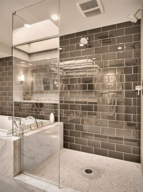 mirrored tiles bathroom shower tile designs for each and every taste