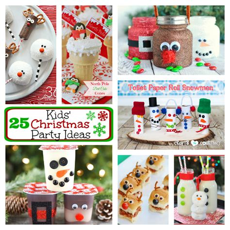 25 kids christmas party ideas fun squared