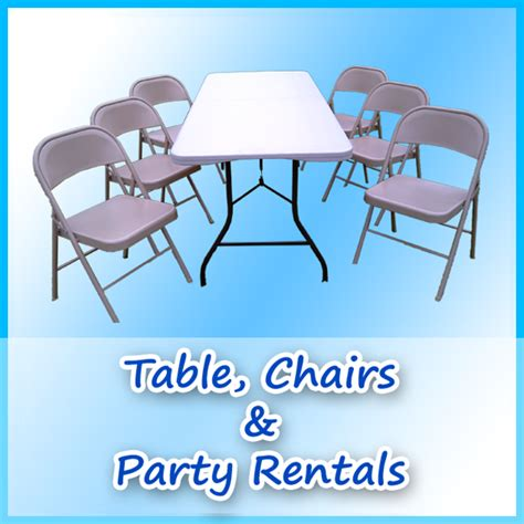 Places To Rent Tables And Chairs by A Bounce Above For San Diego Bounce House Rentals