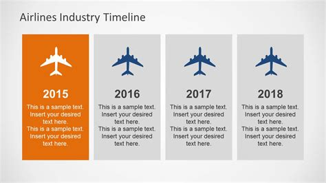 Airlines Industry Powerpoint Template Slidemodel Airline Powerpoint Templates
