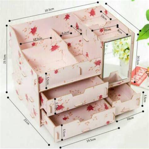 Jual Rak Kosmetik Surabaya rak kosmetik bahan kayu daftar update harga terbaru