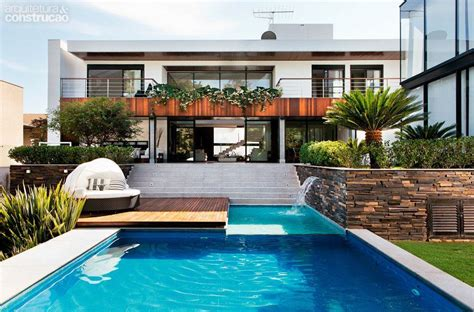 piscina casa casas piscinas 60 modelos projetos e fotos