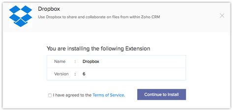 dropbox online only dropbox extension online help zoho crm
