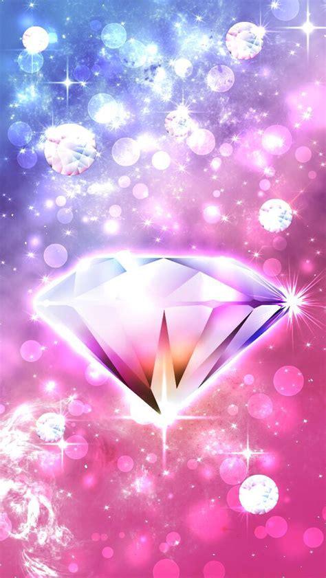 girly diamond wallpaper girly diamond pink k a w a i i pinterest girly