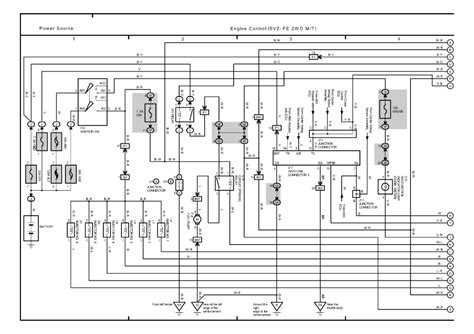 2002 Toyota Tacoma Engine Diagram Repair Guides Overall Electrical Wiring Diagram 2003