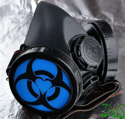 biohazard gas mask by tara cyber mask cyber respirator black gas mask biohazard