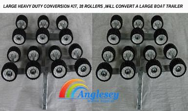 convert boat trailer to rollers boat trailer rollers conversion kit