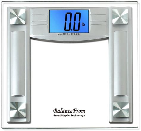 balancefrom high accuracy digital bathroom scale 5 best body fat scales excellent helper for all dieters
