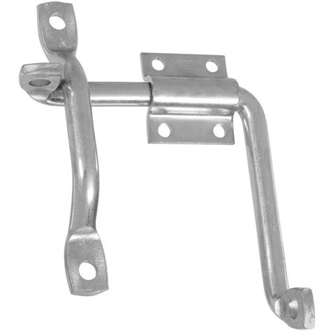 everbilt black heavy duty gate flip latch 20474