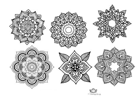 henna tattoo sets mandala temporary set boho tattoos festival