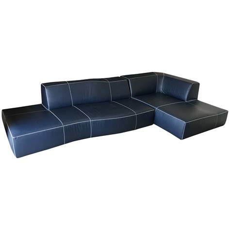 modular sectionals sofas b b italia modular bend sectional sofa at 1stdibs