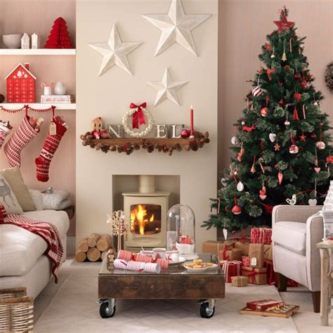 christmas living room decorating ideas budget christmas decorating ideas housetohome co uk