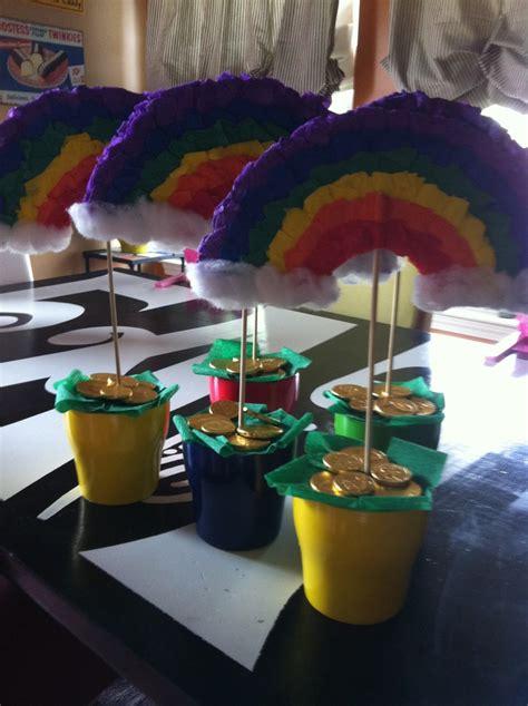 best 25 rainbow centerpiece ideas on when is