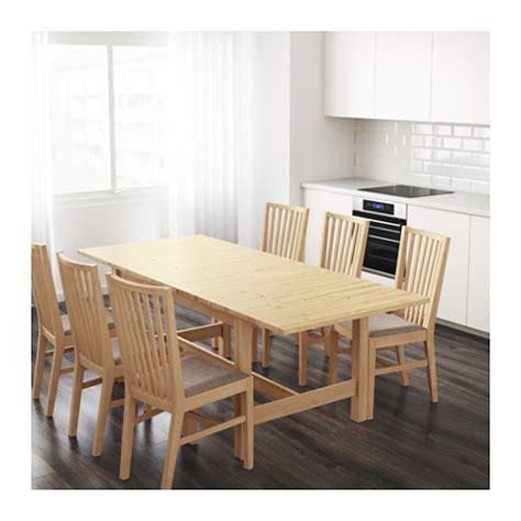 ikea tavolo norden norden extendable table birch 155 210x90 cm ikea