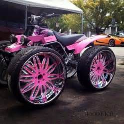4 Wheels Truck Pink Four Wheeler Atvs Times Count