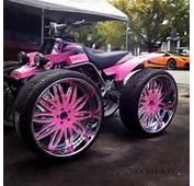 Pink Four Wheeler  ATVs Dirt Bikes Pinterest