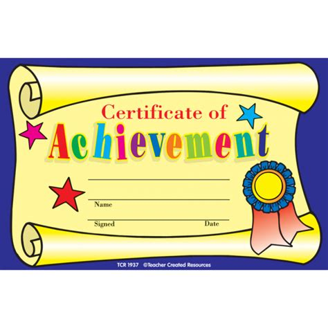 templates for children s certificates kids certificates certificate of achievement awards