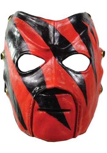 deluxe wwe kane adult mask