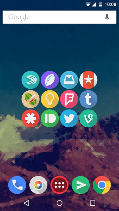 click ui icon pack apk click ui icon pack 6 3 apk android персонализация приложения