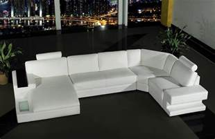 modern white leather sofa set simplicity that