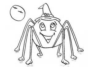 printable halloween spider coloring pages only coloring