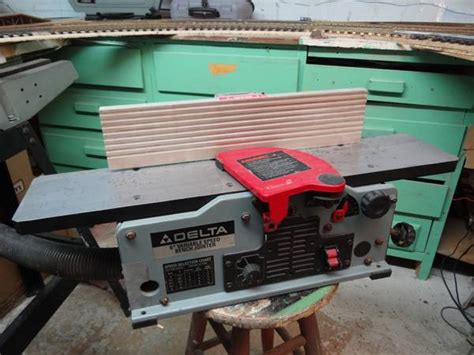 delta 6 variable speed bench jointer delta 6 bench jointer espotted