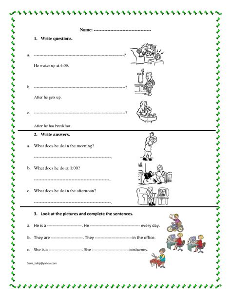 everyday use worksheet 314 free everyday social worksheets