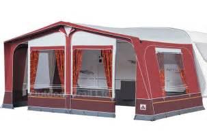 dorema daytona 240 burgundy caravan awning alloy frame