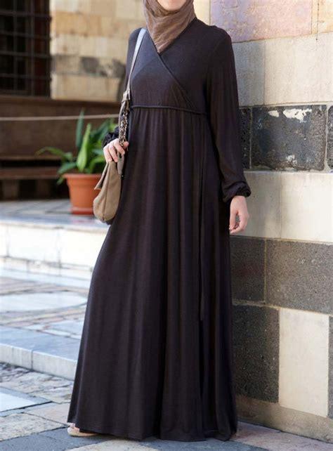 shukr usa faux wrap abaya hijabsabayas pinterest
