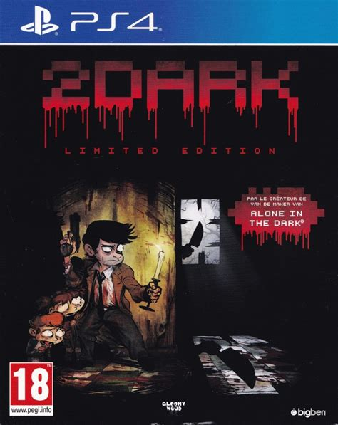 Ps4 2dark Limited Edition New 2dark limited edition 2017 playstation 4 box cover mobygames