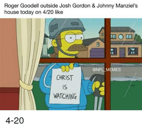 Roger Goodell House by Roger Goodell Outside Josh Gordon Johnny Manziel S House