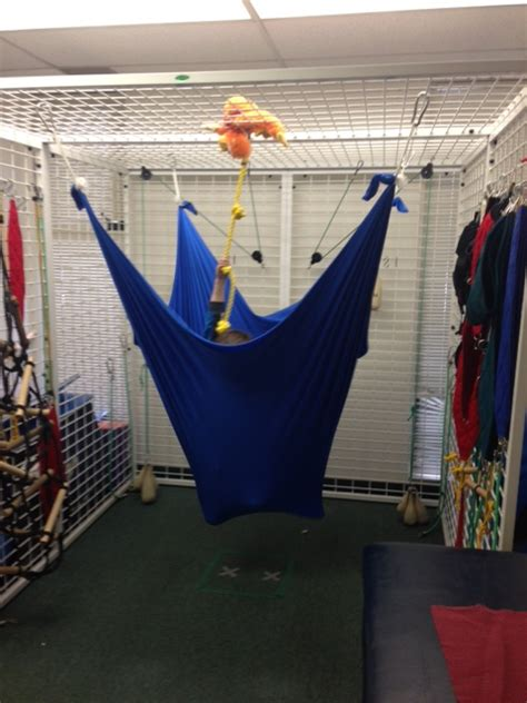 lycra swing rope climb with a lycra swing twist starfish therapies