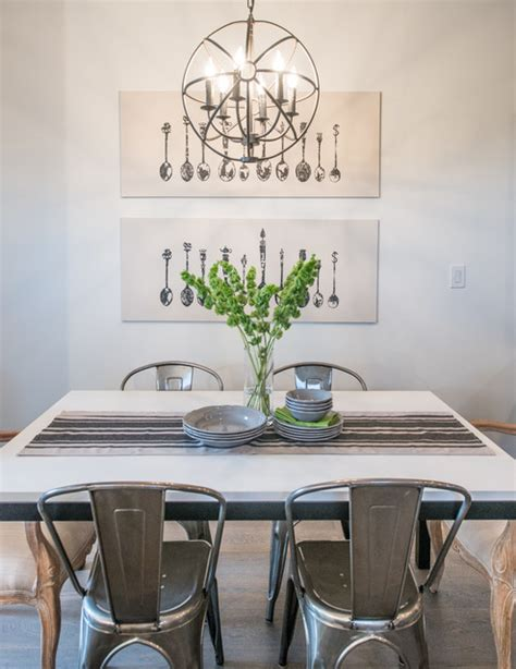 Rustic Chic Dining Room by Rustic Chic Transitional Dining Room Calgary By
