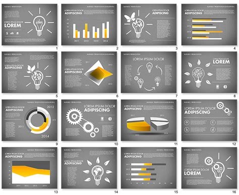 powerpoint templates unique project feedback creative slide powerpoint template