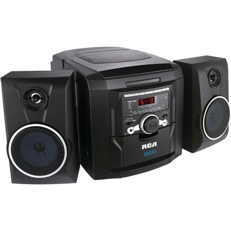 rca rs22162s 5 disc cd mini shelf system