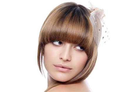 rounded hairstyles rounded bangs