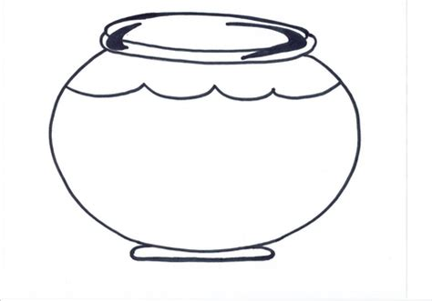 fish bowl template fish bowl coloring pages for grig3 org
