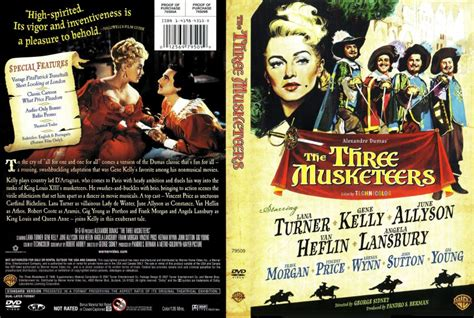 the three the three musketeers 1948 dvd scanned covers