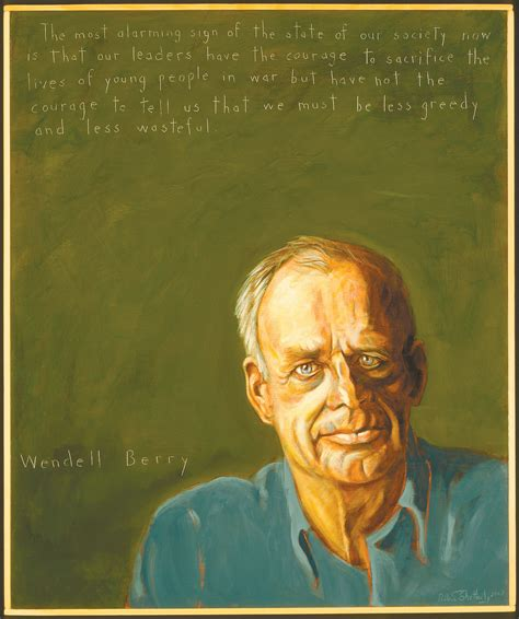 Wendell Berry Essay by Learning To Stay February 2010