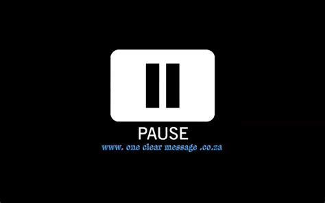Pause The humour is in the pause