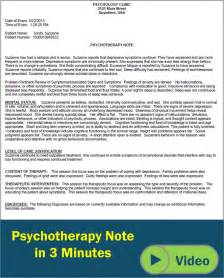 Psychiatry Note Template by Psychotherapy Progress Notes Template Search