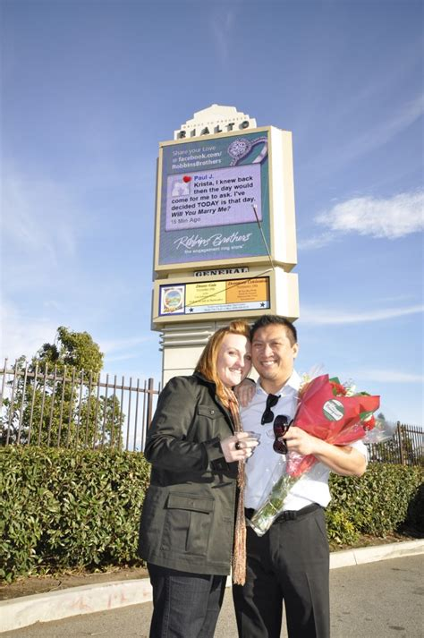 robbins brothers customer proposes to robbins brothers fullerton customer surprises