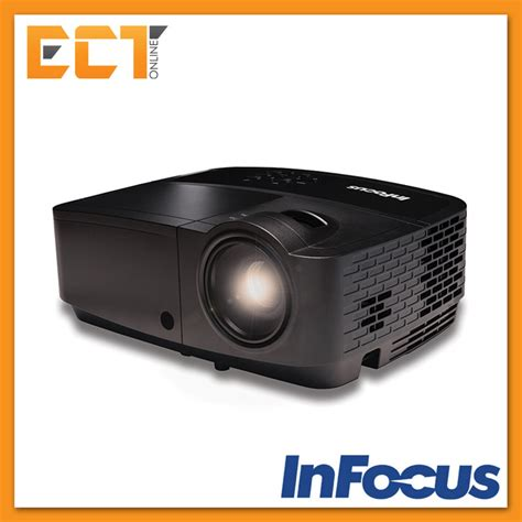 Infocus Led Projector infocus in114x xga 1024 x 768 resolution office and classroom portable projector black