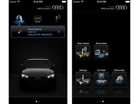Audi Mmi Connect App by Audi Mmi Connect App Pour Rester Connect 233 En Wi Fi Avec