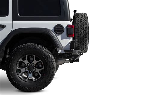 2018 Jeep Wrangler JL Stealth Fighter Rear Bumper: ADD
