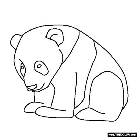 panda coloring page pdf 26 kids coloring pages panda print color craft
