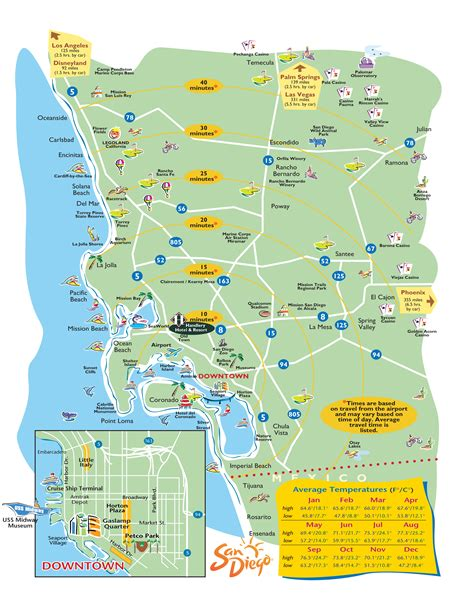 san diego county map san diego maps my