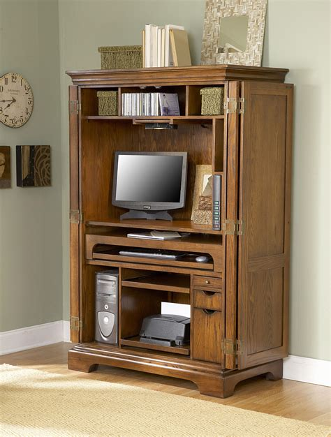 Computer Armoire Target Solid Wood Computer Armoire Hutch Desk Storage Cabinet Home Soapp Culture