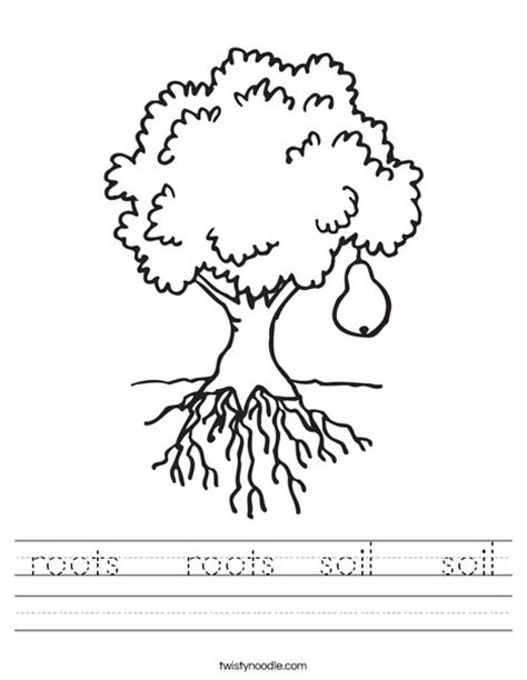 printable children s resources roots roots soil soil worksheet twisty noodle